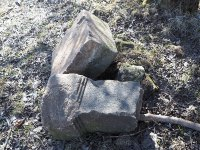 Dlouhá - kamenný kříž | Dlouhá - kamenný kříž