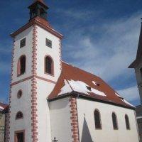 Abertamy - kostel Čtrnácti sv. pomocníků