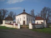 Andělská Hora - kostel Nejsvětější Trojice |