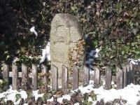 Jeřeň - křížový kámen |