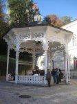 Karlovy Vary - altán pramene Svoboda  