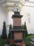 Karlovy Vary - busta Galluse Rittera von Hochbergera  