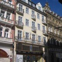 Karlovy Vary - dům U tří mouřenínů