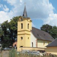 Bor - kostel sv. Maří Magdalény