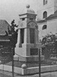 Kobylé - pomník obětem 1. světové války | Kobylé - pomník obětem 1. světové války