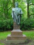 Dalovice - busta Karla Theodora Körnera |