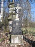 Svinov - pamětní kříž Ernsta Garkische  