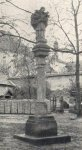 Toužim - sloup se sochou sv. Jana Nepomuckého  