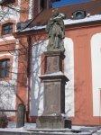 Valeč - socha sv. Jana Nepomuckého |