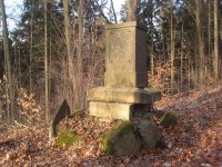 Kyselka - pomník Franze Franiecka |