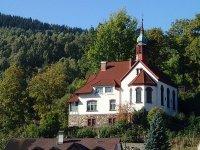 Jáchymov - evangelický kostel Spasitele  