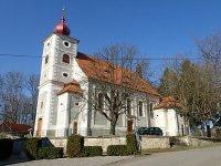 Kostelní Bříza - kostel sv. Petra a Pavla |