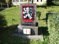 Jáchymov - pomník osvobození |