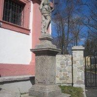 Chodov - socha sv. Šebestiána