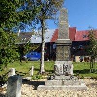 Boží Dar - pomník obětem 1. světové války
