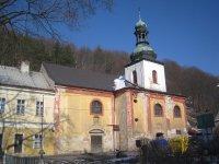 Horní Slavkov - kostel sv. Anny   Horní Slavkov - kostel sv. Anny