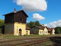 Protivec - železniční stanice | Protivec - železniční stanice