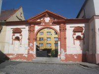 Žlutice - zámecká brána | Žlutice - zámecká brána