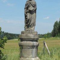 Teplá - socha sv. Judy Tadeáše
