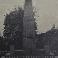Beranov - pomník obětem 1. světové války