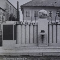 Abertamy - pomník obětem 1. světové války