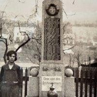 Stráž nad Ohří - pomník obětem 1. světové války