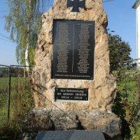 Staré Sedlo - pomník obětem 1. světové války