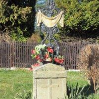 Dlouhá Ves - železný kříž
