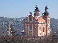 Valeč - kostel Nejsvětější Trojice |
