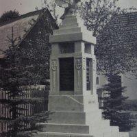 Kfely - pomník obětem 1. světové války