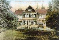 Zakšov - lovecký zámek Dunkelsberg  