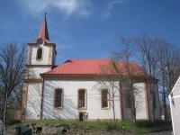 Žalmanov - kostel Nanebevzetí Panny Marie |