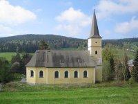 Rudné - kostel Navštívení Panny Marie  