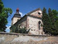 Kobylé - kostel Povýšení sv. Kříže |