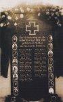 Činov - pamětní deska obětem 1. světové války  