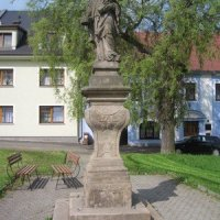 Bochov - socha sv. Jana Nepomuckého