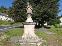 Jáchymov - socha sv. Jana Nepomuckého  