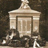 Doubí - pomník obětem 1. světové války