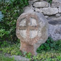 Andělská Hora - pamětní kříž