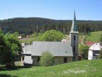 Pernink - kostel Nejsvětější Trojice |