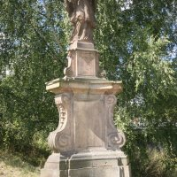 Doupov - socha sv. Jana Nepomuckého