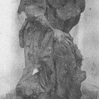 Doupov - socha sv. Rocha