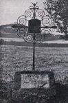 Maroltov - železný kříž |