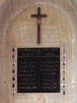 Žalmanov - pamětní deska obětem 1. světové války |