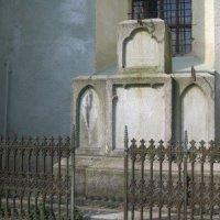 Hroznětín - sousoší Panny Marie, sv. Alžběty a sv. Maxmiliána