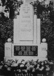 Lochotín - pomník obětem 1. světové války |