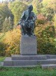 Karlovy Vary - pomník Bedřicha Smetany |