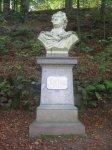 Karlovy Vary - busta Johanna Wolfganga von Goetha |
