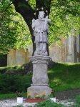 Andělská Hora - socha sv. Jana Nepomuckého  