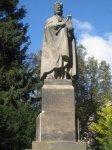 Karlovy Vary - pomník Karla IV. |